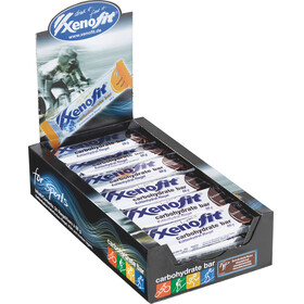 Xenofit Carbohydrate Sports Nutrition Chocolate nut 24 x 68g brown/silver